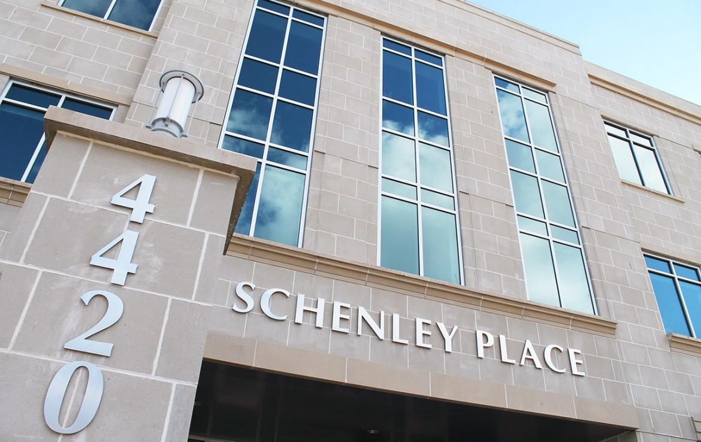 Schenley Place Office Building entrance